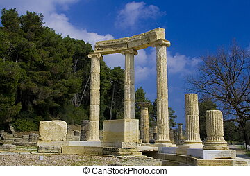 Ancient Olympia Greece the cradle of the Olympic games