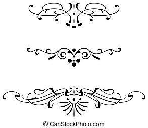 Ancient ornament - Ornamental design, digital artwork