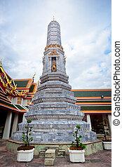 Ancient Pagoda or Chedi at Wat Pho, Thailand