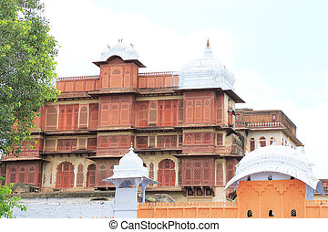 ancient palace and fort india