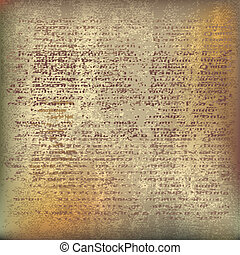 Ancient Parchment. Vector background illustration with...