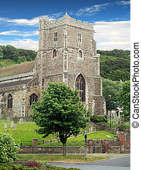 Ancient parish church hasting
