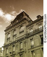 Ancient parisian building - a view of an ancient parisian...