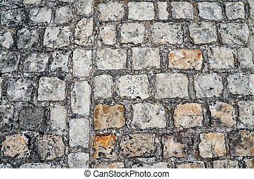 Ancient pavement