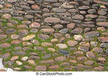 Ancient paving stone
