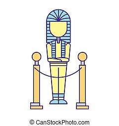 ancient pharaoh mummy exhibition museum