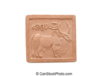 Ancient Pictograph from the Indus Valley Civilization
