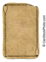 ancient playing card grunge used paper background with lines