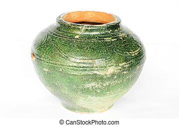 Ancient pottery jug