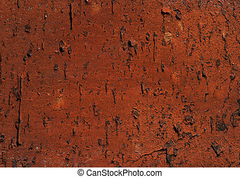 Ancient red brick texture.