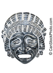 Ancient reproduced mask.