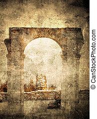 Ancient Roman arch