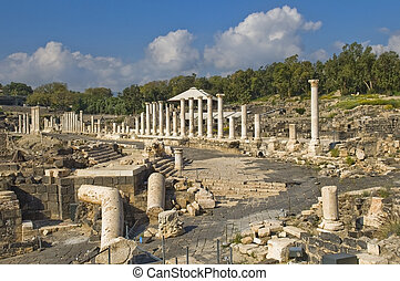 Ancient Roman excavations in Israel