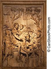 Roman Marcus Aurelius Sculpture Capitoline Museum Rome Italy...