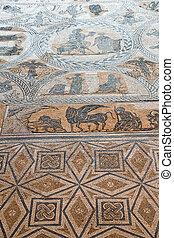 ancient roman mosaic