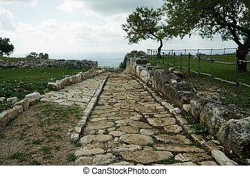 Ancient Roman road