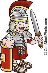 Ancient Roman Soldier