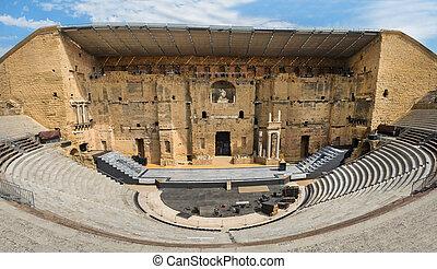 Ancient Roman theater in Orange