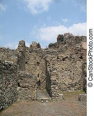 Ancient ruin in Pompei