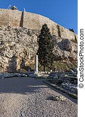 Ruins at Acropolis of Athens - Ancient Ruins at Acropolis of...