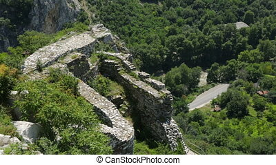 Ancient ruins in Balkan Mountains