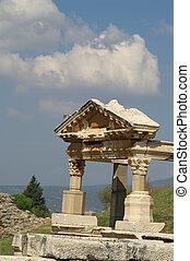 ancient ruins in Ephesus