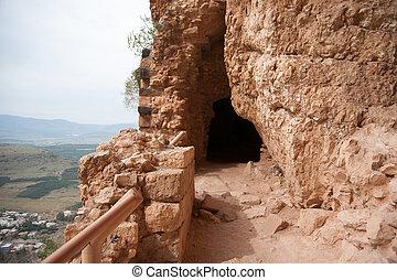 Ancient ruins in Israel