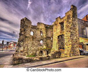Ancient ruins in Southampton - Hampshire, England