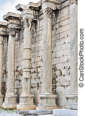 Ancient ruins of Athens in Greece