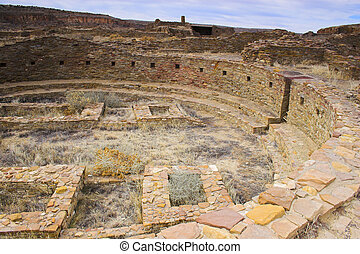 Chaco Culture - Ancient ruins of pre-historic Indian ...