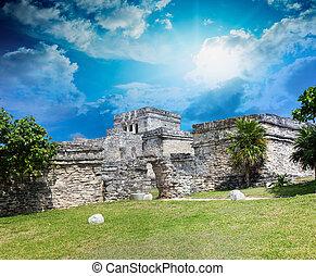 Ancient ruins of Tulum