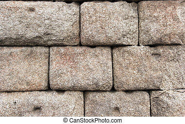Ancient ruins stone wall background