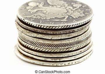 ancient russian coins old silver rubles