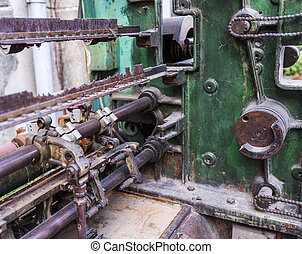 Ancient rusty machine in China - Ancient rusty machine