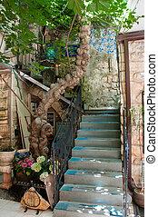 Ancient Safed city of Kabbalah