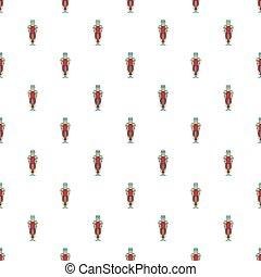 Ancient spartan gladiator pattern, cartoon style