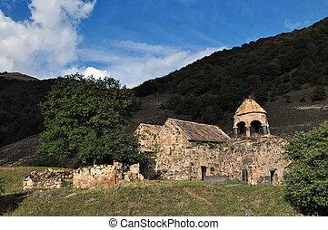 ancient Srbanes monastery in Armenia