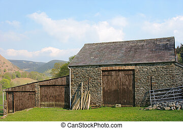 Ancient Stone Barn