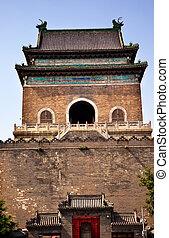 Stone Bell Tower Beijing China