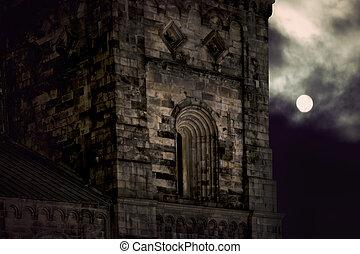 Ancient stone building