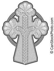 ancient stone cross