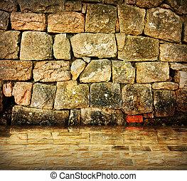 Ancient stone interior