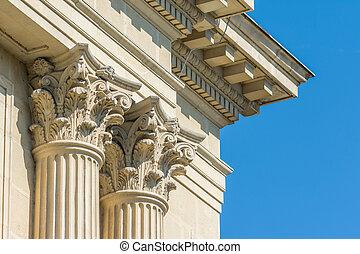 Temple Corinthian Columns