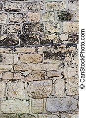 Ancient stone wall texture background