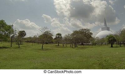 Ancient stupa in Sri Lanka - Video 1920x1080 - Ancient stupa...