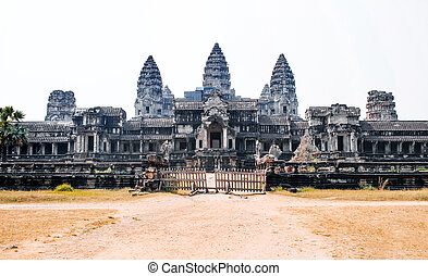 Angkor Wat - Ancient temple complex Angkor Wat, Siem Reap,...