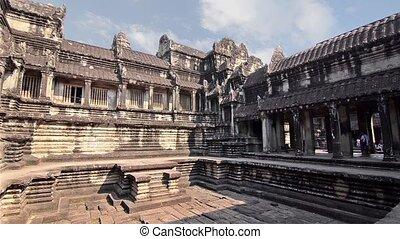ancient temple in cambodia