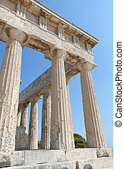 Ancient temple in Greece - Classical ancient temple of...