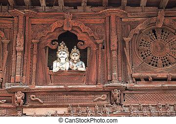Ancient Temple, Kathmandu Durbar Square, Nepal - Image of an...