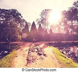 Koh Ker - Ancient temple Koh Ker, Cambodia
